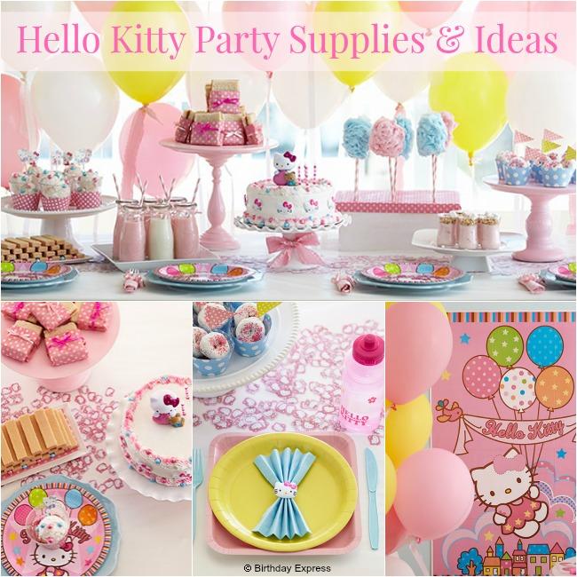 Hello Kitty Party Supplies & Ideas