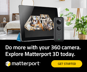 Image for Matterport X Insta360 Camera 300x250 A