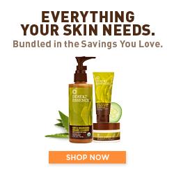 Desert Essence Skin Care Regimen