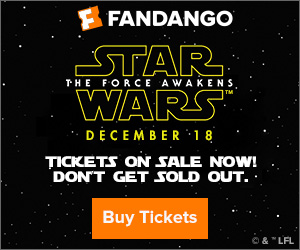 Star Wars Movie Tickets