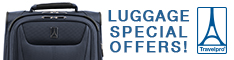 Shop our Luggage Special Offers!