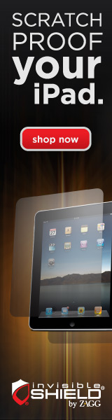 invisibleSHIELD case for iPad