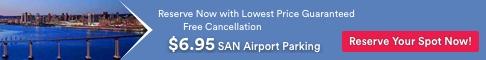 $6.95 Cheap SAN Airport Parking