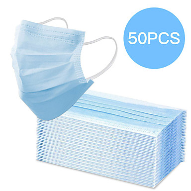 Hot Sale--50pcs/pack Face Mask Protection