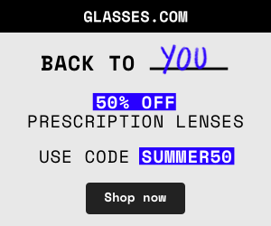 Summer Sale! Enjoy 50% off rx lenses + free shipping with code SUMMER50 at checkout