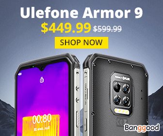 $449.99 for Ulefone Armor 9 IP68&IP69K | Thermal Imaging Camera 8GB+128GB | Android 10