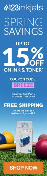 Discounts on printer supplies