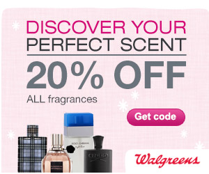 20% off ALL fragrances including designer and celebrity perfumes and colognes w/ code JOLLY20