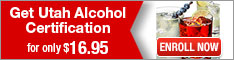 Learn2Serve- Get Utah Alcohol Certification for $16.95 234x60