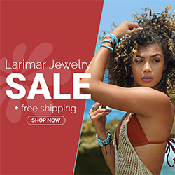 50% OFF Larimar Jewelry, Coupon Code: WELCOME