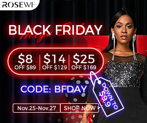 Black Friday Is Coming!$8 off over $89,$14 off over $129,$25 off over $169,with code:BFDAY