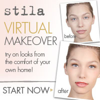 stila virtual makeover