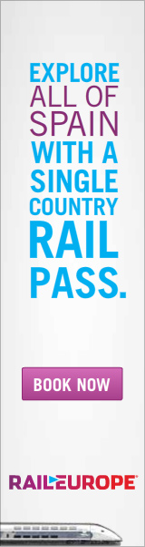 Explore all of Spain with a Single Country Rail Pass
