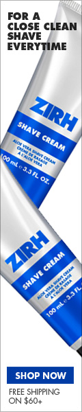 Zirh Shave The Best In Men's Skincare!