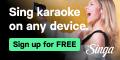 Singa Karaoke App