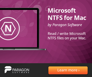 Paragons Microsoft NTFS for Mac