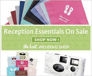 Wedding Reception Essentials On Sale
