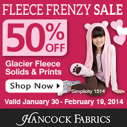 250x250 All About Fleece Event - Ends October 30th