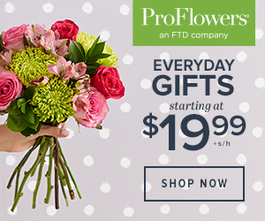 ProFlowers Promo Code - Flowers & Gifts, Made Easy. Order ProFlowers from $19.99 +s/h