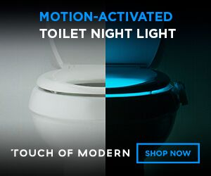 Motion-Activated Toliet Night Light - Touch of Modern