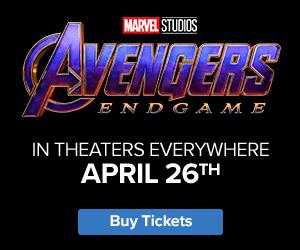 300x250 Fandango - 'Avengers' - In Theaters Everywhere April 26th