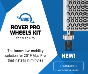 Image for OWC Rover Pro Mac Pro Wheel Kit - 300x250
