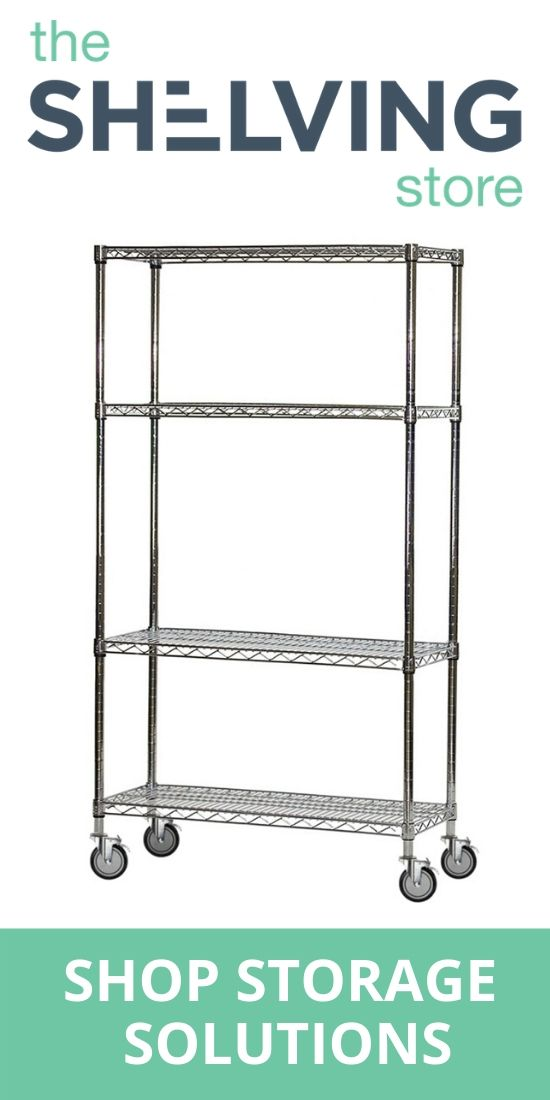 550x1100 TSS Offers a wide selection of shelves