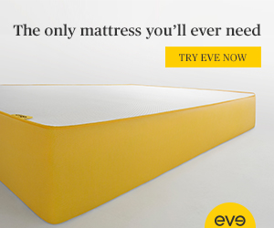 eve mattress. The only mattress you'll ever need. Shop now.