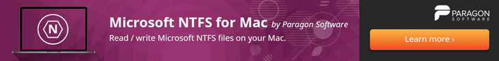 Microsoft NFTS for Mac
