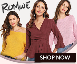Shop ROMWE.com For The Latest Fashion Trends!