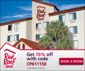 Get 15% off your stay with code REDROOF15!