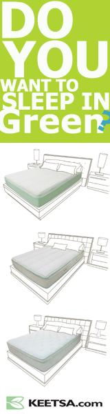 Keetsa - Sleep In Green. Shop Now!