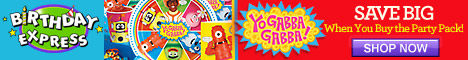 Yo Gabba Gabba Party Supplies