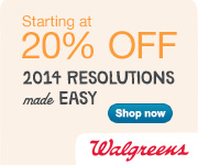 Resolutions Made Easy: Up to 20% off at Walgreens