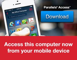 Abonnement Parallels Access sous Windows