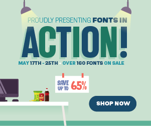 2021 Fonts in Action Sale