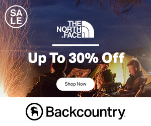 Save Up to 30% Off The North Face at Backcountry.com