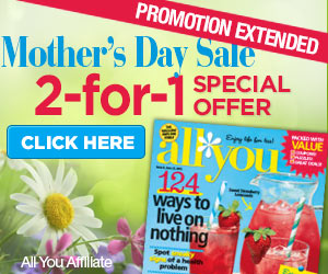 All You Magazine Mother's Day Sale