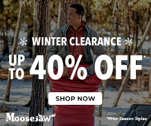 Up to 40% Off Winter Clearance