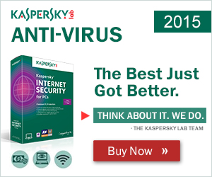 $15 OFF Kaspersky Internet Security 2013