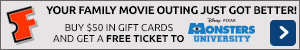 Free Fandango Movie Ticket!