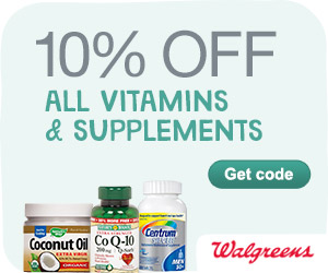 10% off Vitamins and Supplements w/ code HEALTHY