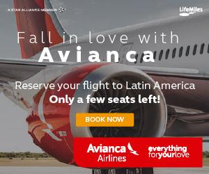 Avianca Airlines Vols Escale depart de France