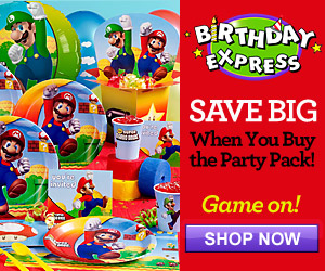 Mario Birthday Party Supplies