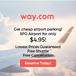SFO Cheap Airport Parking $4.95