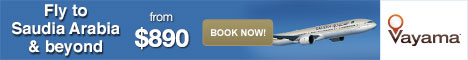 Vayama.com - Save $50 Off from Los Angeles to the Middle East/Asia with Qatar Airways!