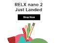 RELX nano 2 Now Launching 120*90