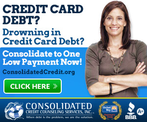 Drowning in credit debt