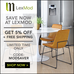 LexMod Promo Code 5% Off plus Free Shipping