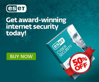 ESET Black Friday and Cyber Monday - 50% off ESET Cyber Security for Mac!